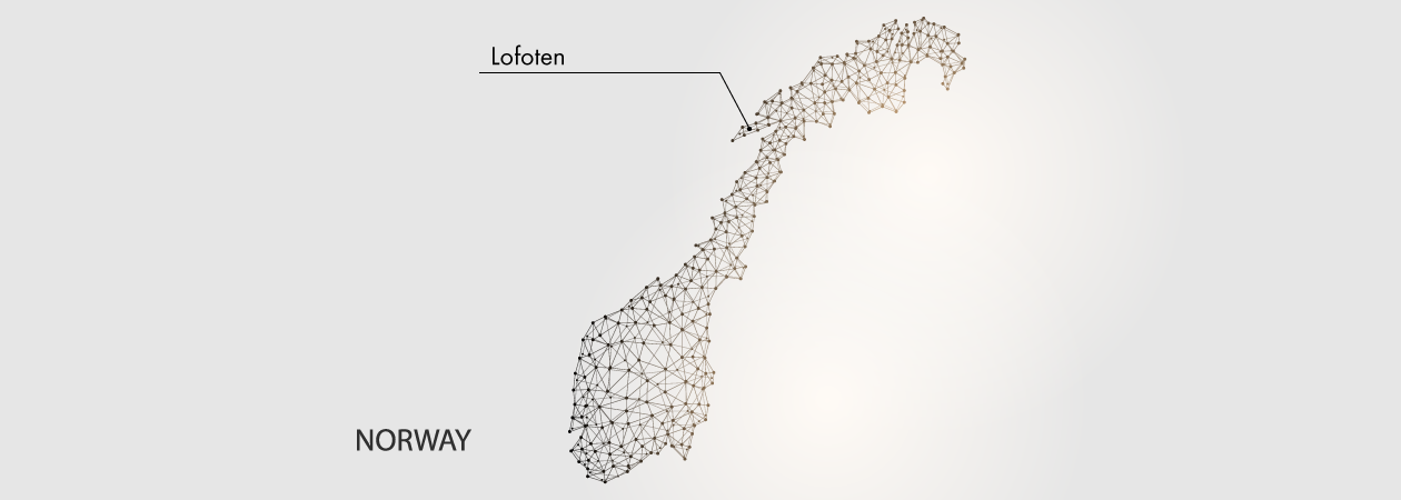 Lofoten Map